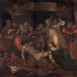 Deposizione, 1521 circa L. Lotto in s aless in colonna