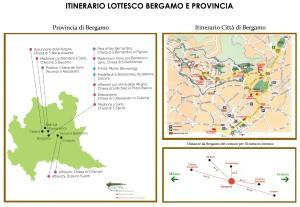 itinerario lotto bergamo e provincia